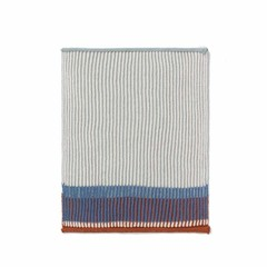 Ferm Living dishcloths / guest towels Akin dull blue 2-pack