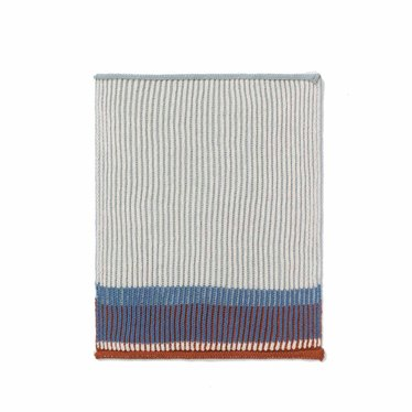 Ferm Living Dishcloth / Guest towel Akin dull blue 2-pack