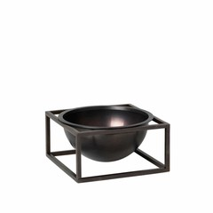 By Lassen Kubus Bowl Centerpiece klein burnished copper
