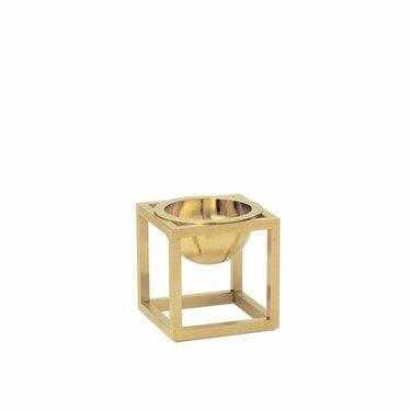 By Lassen Kubus Bowl Mini brass