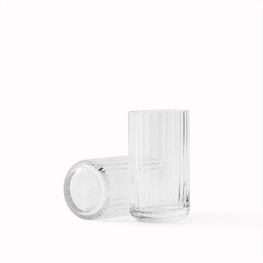 Lyngby Porcelaen Glass vase - Clear