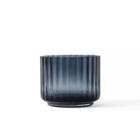 Lyngby Porcelaen tealight holder glass - blue