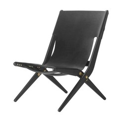 By Lassen Saxe chair black