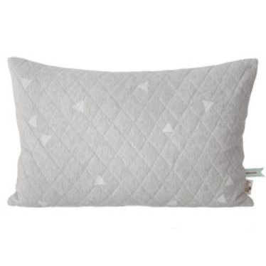 Ferm Living Quilted cushion Teepee light grey
