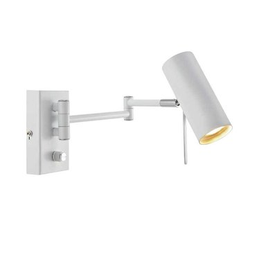 Markslöjd Wall lamp Roma with dimmer white