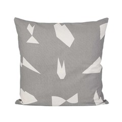 Ferm Living cushion Cut grey