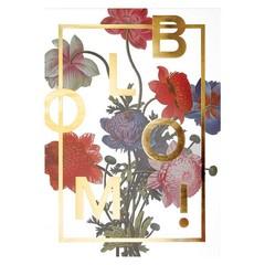 I Love My Type Bloom poster! Power Flower