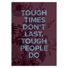 I Love My Type kaart Tough People A5
