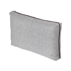 Ferm Living wool cushion light grey 60 x 40