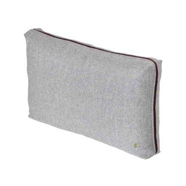 Ferm Living Wool Cushion light grey 60x 40 cm