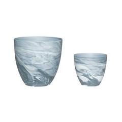 Hubsch Twilight pots, 2 pieces