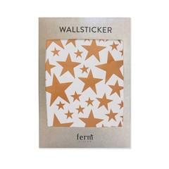 Ferm Living muurstickers Mini Stars koper