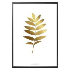 Hagedornhagen poster FG1 Folium Gold 30x40