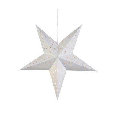 Markslöjd Christmas star Mikke white 45 cm