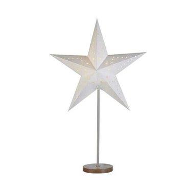 Markslöjd Christmas table star Mikke white