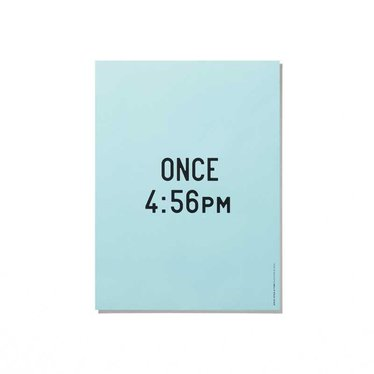 Playtype poster Once upon a Time - 30x40 cm