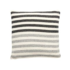 Hubsch woolen pillow with stripes