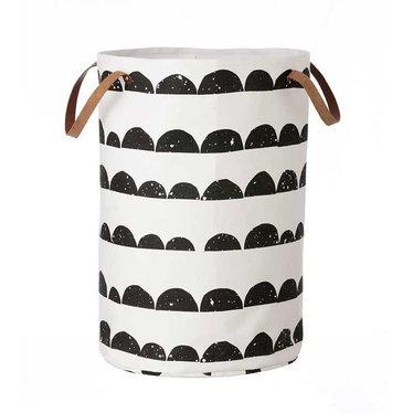 Ferm Living Laundry basket - storage basket Half Moon