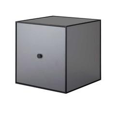 By Lassen Frame 35 kast met deur - dark grey