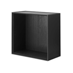 By Lassen Frame 42 kast - black stained ash