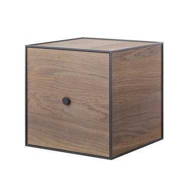 By Lassen Frame 35 kast met deur - smoked oak
