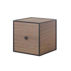 By Lassen Frame 28 kast met deur - smoked oak