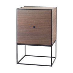By Lassen Frame 49 Sideboard whiteh door - smoked oak
