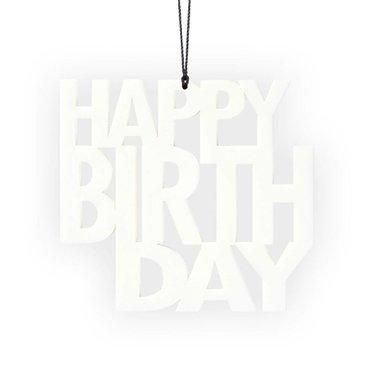 Felius hanger Happy Birthday 2-pack wit