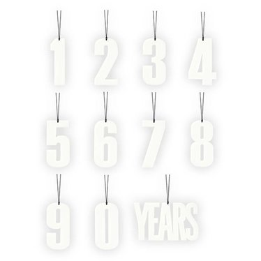 Felius hanger 0-9 Years 11-pack wit