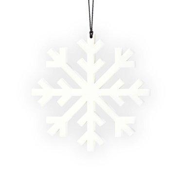 Felius hanger Snowflake 2-pack wit