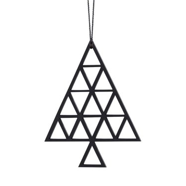 Felius hanger Christmas Tree 2-pack zwart