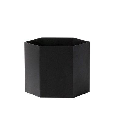 Ferm Living Hexagon pot Extra Large - zwart