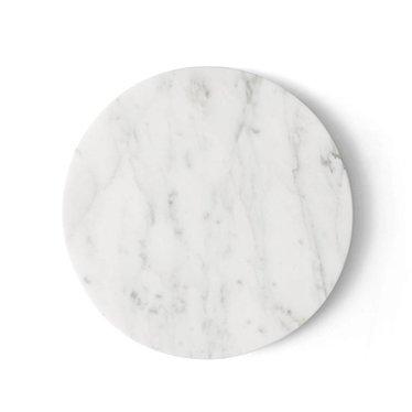 Menu blad voor Wire standaard wit marmer