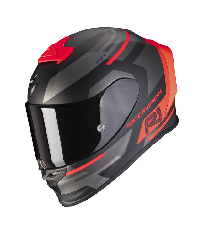 Scorpion EXO-R1 AIR ORBIS MATT BLACK NEON RED