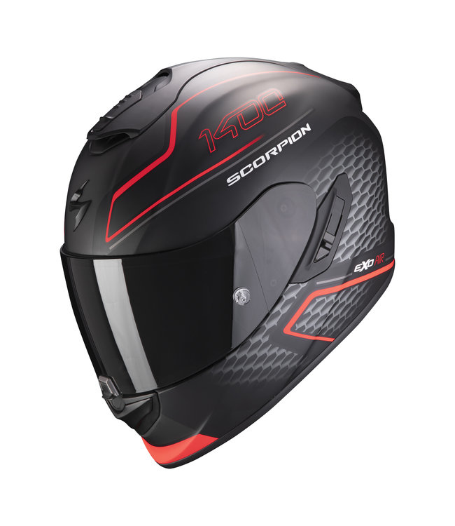 Scorpion EXO-1400 AIR GALAXY MATT NEON RED