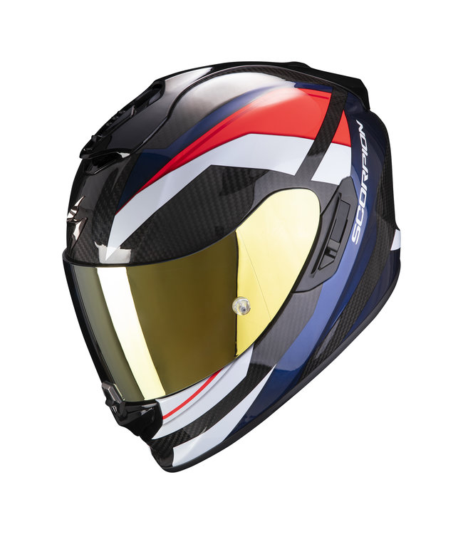 Scorpion EXO-1400 CARBON AIR LEGIONE RED BLUE