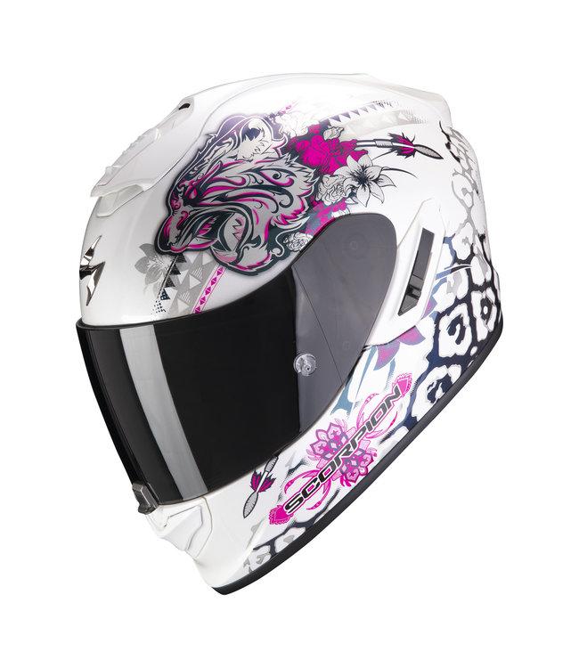 Scorpion EXO-1400 AIR TOA WHITE-PINK