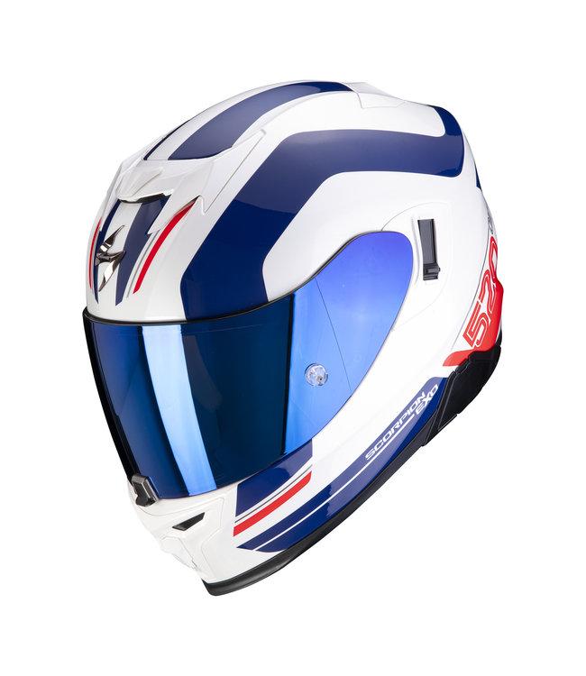 Scorpion EXO-520 AIR LEMANS WHITE-BLUE-RED