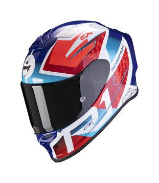 Scorpion EXO-R1 AIR INFINI WHITE BLUE RED