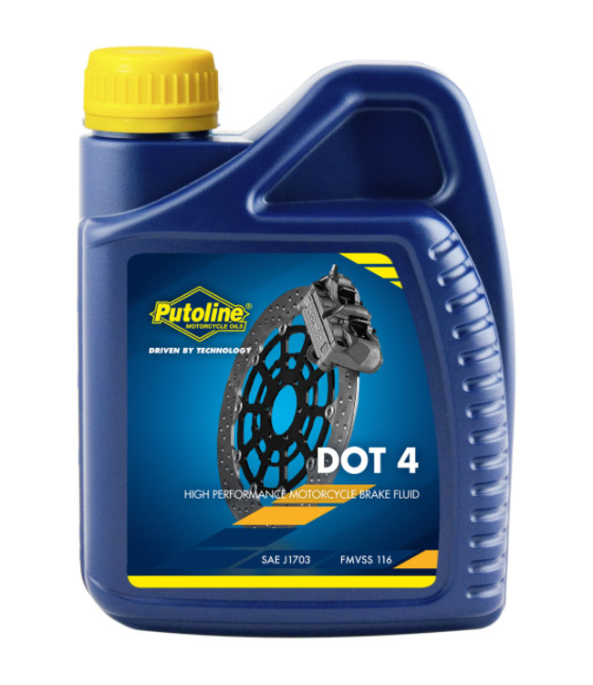 PUTOLINE BRAKE FLUID DOT 4 500ML