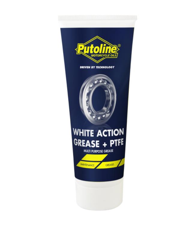 PUTOLINE WHITE ACTION GREASE  PTFE 100G