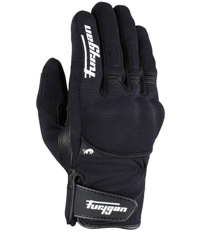 Furygan Jet D3O Gloves Black White