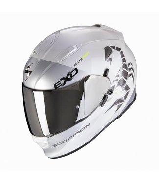 Scorpion EXO-510 AIR PIQUE Pearl White-Silver