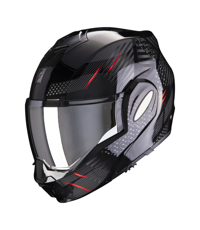 Scorpion EXO-TECH PULSE BLACK-RED