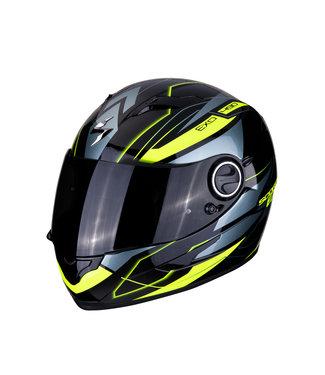 Scorpion EXO-490 NOVA Black-Neon Yellow