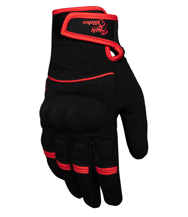 Rusty Stitches Clyde Black/Red