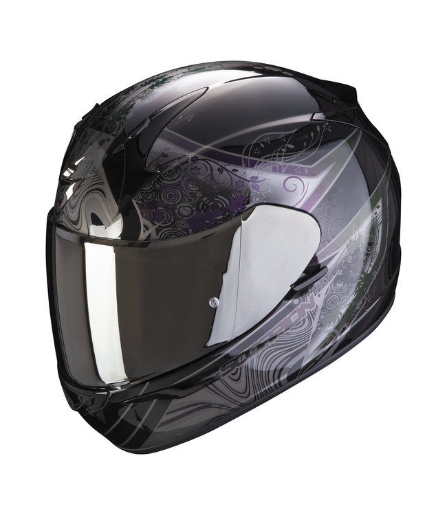 Scorpion EXO-390 CLARA BLACK SILVER