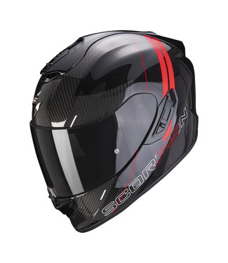 Scorpion EXO-1400 CARBON AIR DRIK BLACK RED