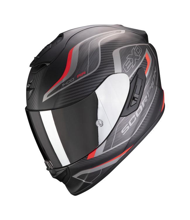Scorpion EXO-1400 AIR ATTUNE MATT BLACK RED