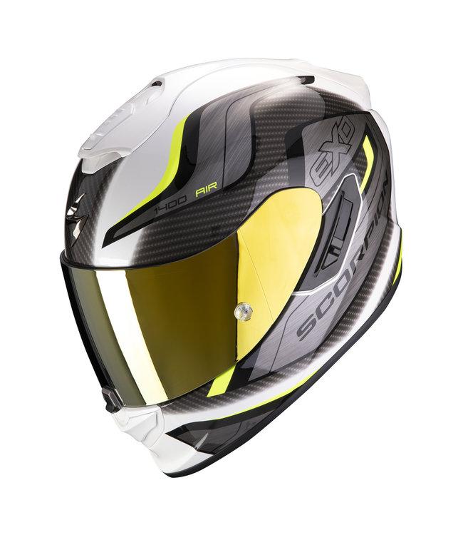 Scorpion EXO-1400 AIR ATTUNE WHITE NEON YELLOW